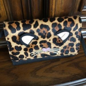 NWOT Kate ♠️ Spade Run Wild Leopard Bag❤️